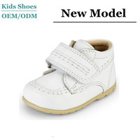 Low MOQ Direct Factory Genuine Leather Baby Boots Booties