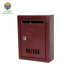 Wholesale Waterproof PP Hard Plastic Post Mailbox For Sale