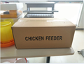 FRD-Brand new galvanized steel automatic chicken self-operated treadle feeder with high quality