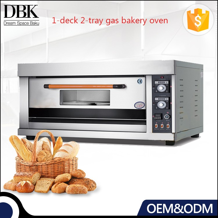 DBK 1- deck 2-trays Gas Bread Baking Oven/Gas Bakery Oven Machines/Bakery Small Oven