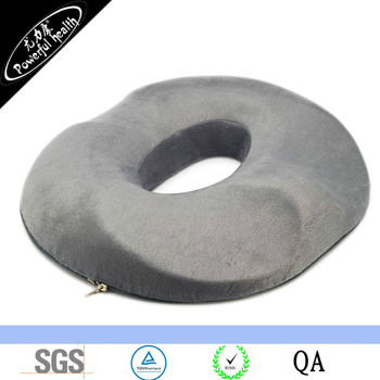 Aylio Donut Ring Comfort Foam Medical Seat Cushion with Contours for the Legs and Tailbone