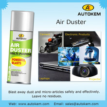 eco-friendly compressed Air duster, computer clean, keyboard clean, 450ml, non-flammable products, aerosol spray, bellow off