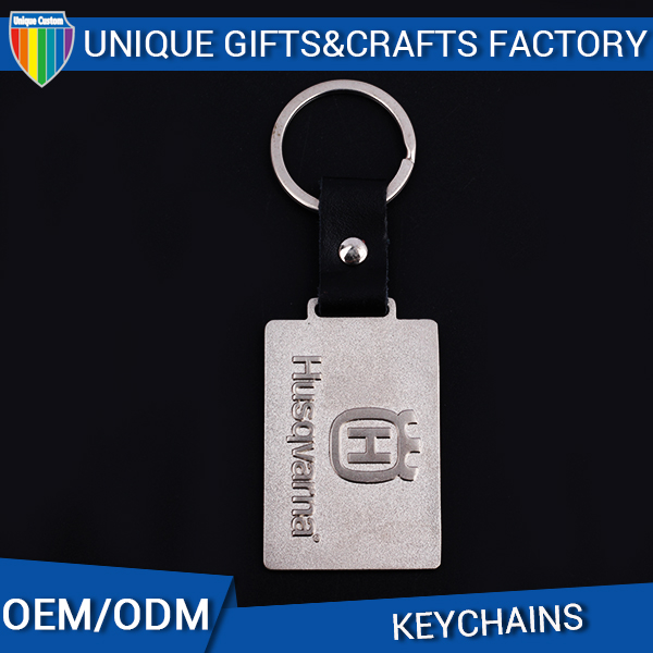 2016 Modern custom metal name card keychain