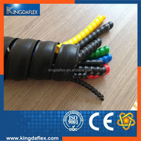 Spiral protection sleeve for hydraulic hose protector and cable protetoer