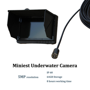 1920 x 1080 resolution 1080P digital full HD mini fishing CCTV camera underwater