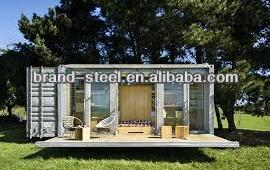 B.R.D luxury prebuilt container houses with architectural luxury design