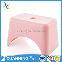 japanese style plastic footstool modern stool colorful plastic stool