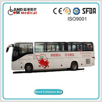 Manufacturer Medical Bus Blood Donator