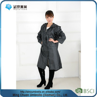 wholesale low price high quality black rubber raincoat