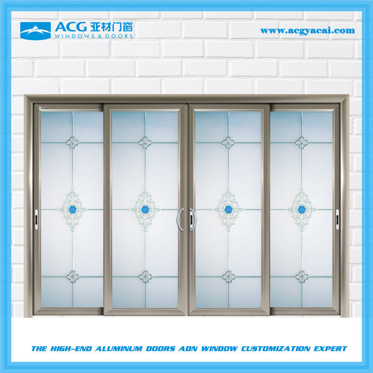 High quality with best price apartment curve sliding doors manufacturer