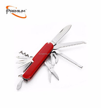 High quality stainless steel Swiss Knife multi tools army pocket knife