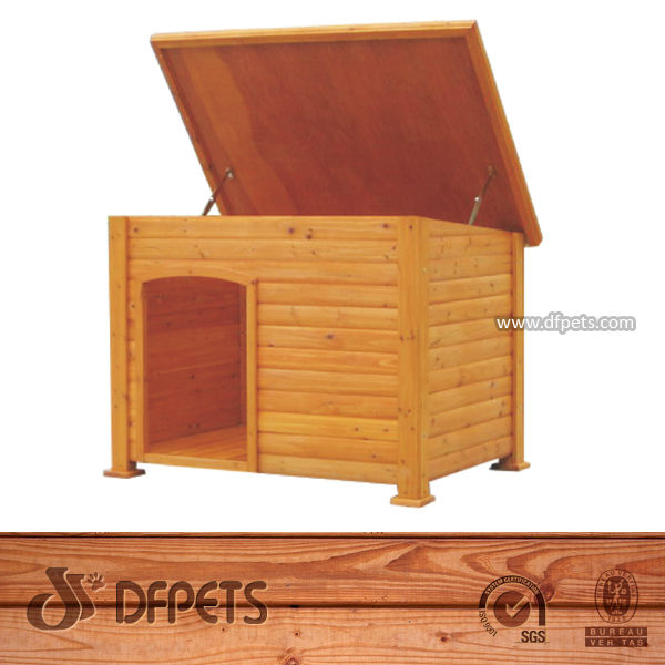 DFPets DFD025 Painting Wood Dog House