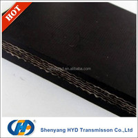 heavy duty rubber conveyor belt for quarry and mining industry