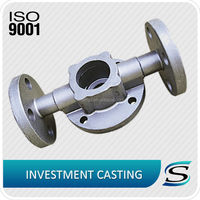 Stainless Steel Lost Wax Casting Valve