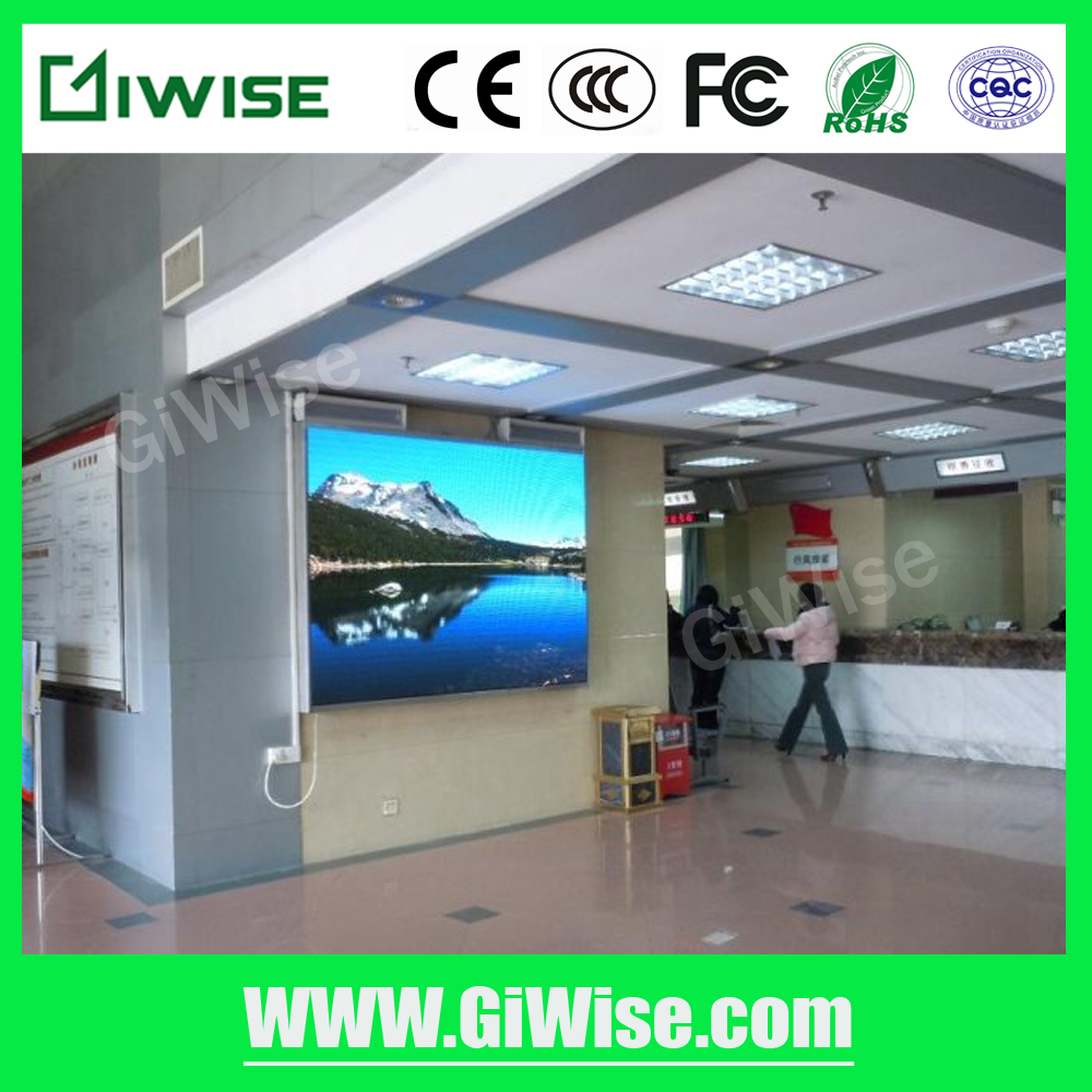 Best seller high refresh rate P7.62 LED screen module display wall governmental broadcast screen