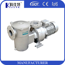 High pressure horizontal multistage stainless steel centrifugal water pump