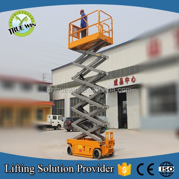 Hot sale!Factory price!self propelled lift platform portable electric lifter electric scissor lifts