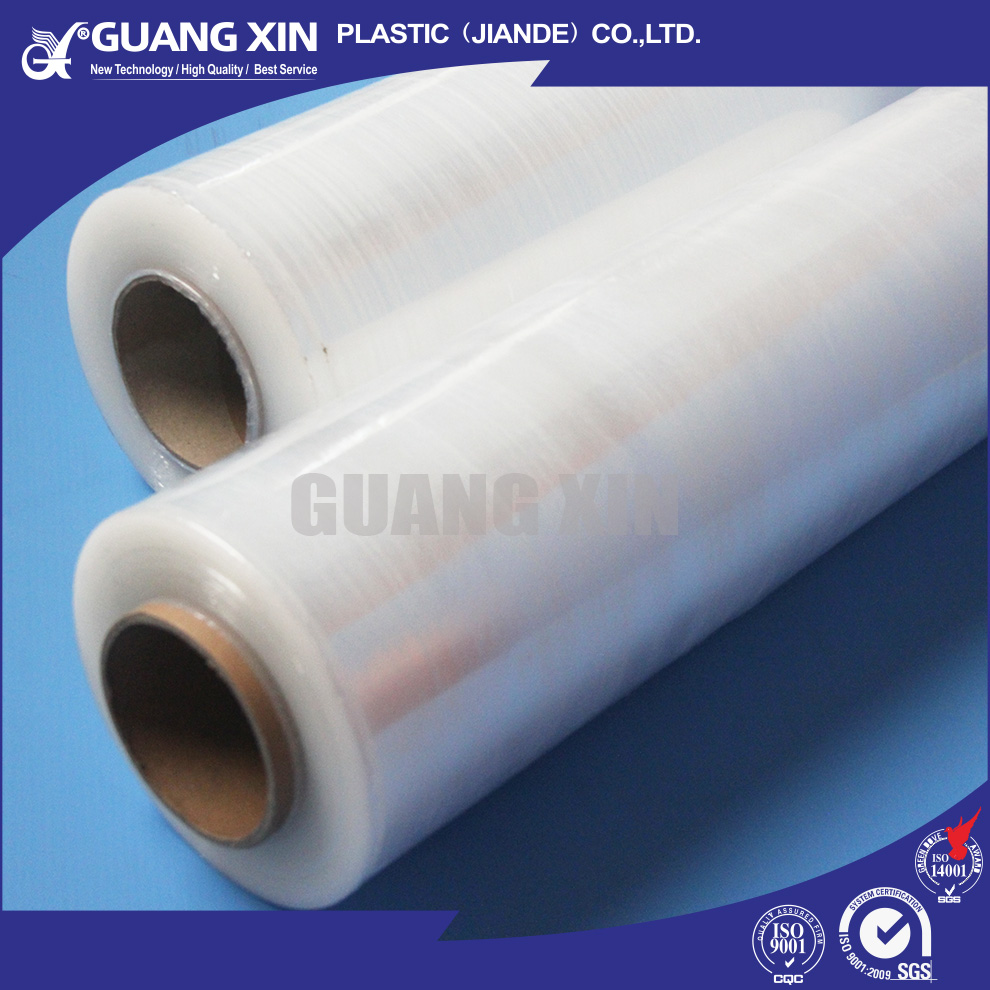 Extensively used for packaging plastic wrap film