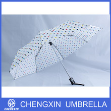 windproof pokka dots fold umbrella