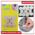 Strong adhesive anti slip floor pad furniture protector