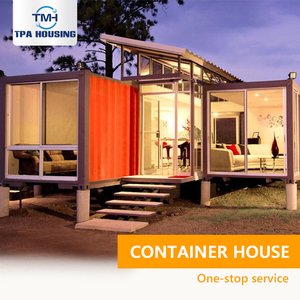 China Supplier Prefabricated Container Homes India Luxury Prefab Shipping Container Home 40Ft Sales Modern