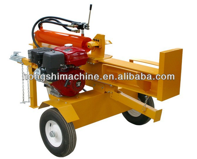 Hot selling 20-30ton Gasoline engine horizontal and vertical used gas log splitters