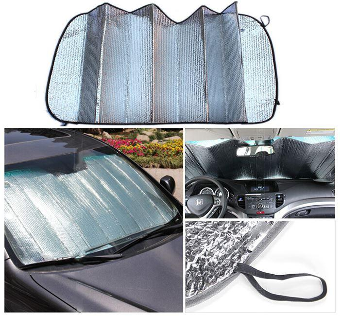 Car <strong>Sun</strong> Shade Window windshield Sunshade Covers Visor front car Screen foldable Bubbles Auto <strong>Sun</strong> Reflective Shade High Quality