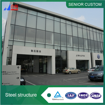 Australia standard durable pre fabrication building steel structure