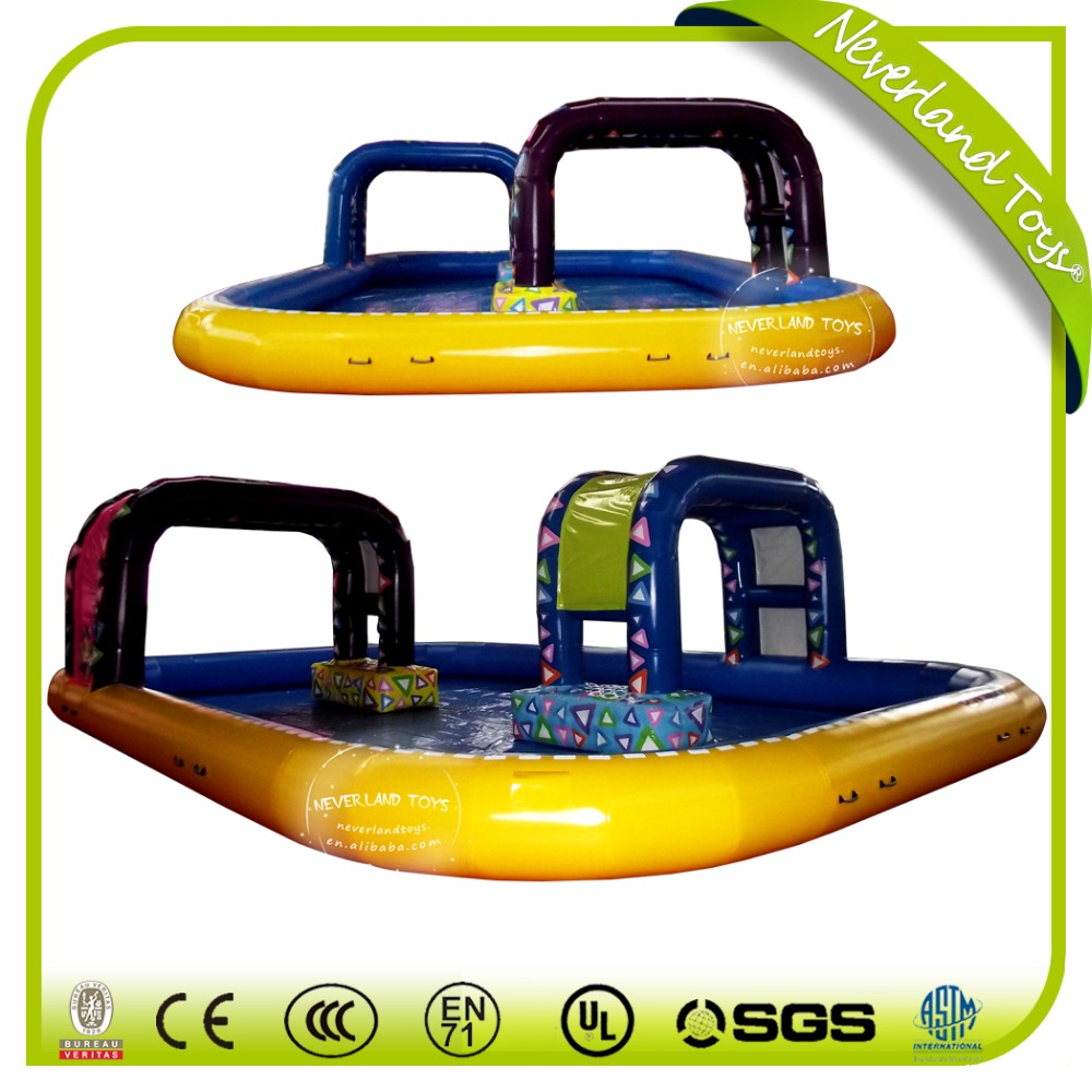 Hot Sale Funny Games NEVERLAND TOYS Climb Type Swimming Pool Equipment Inflatable Pool Rental For Kids and Adults
