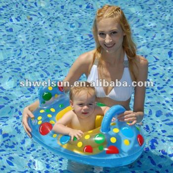 Inflatable color ball Baby Seat