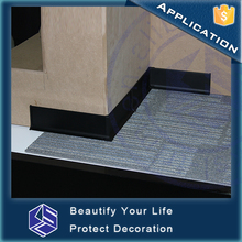 2016 hot sale waterproof aluminum outdoor skirting board cover