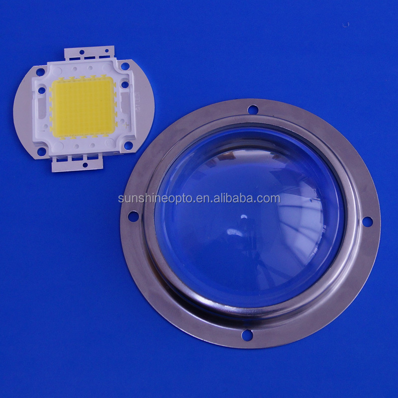 120 degree Round Glass lens High bay light lens 78mm