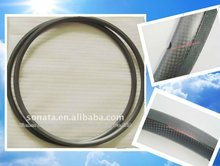 22mm carbon bicycle rims ruedas, with 3k UD finish 700c Spain style