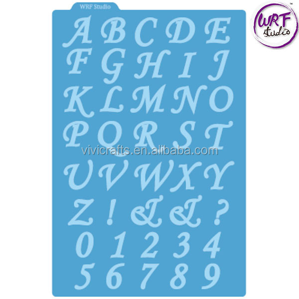 New Style Competitive Alphabet Metal Craft Dies For Scrapbooking