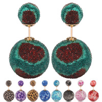 fashion free seed bead earring designs wholesale NS-0006