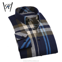 Men's plaid model Shirts