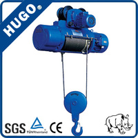 5tCD1 MD1 Wire Rope Electric Chain Hoist /Chain Block with Emergence Stop