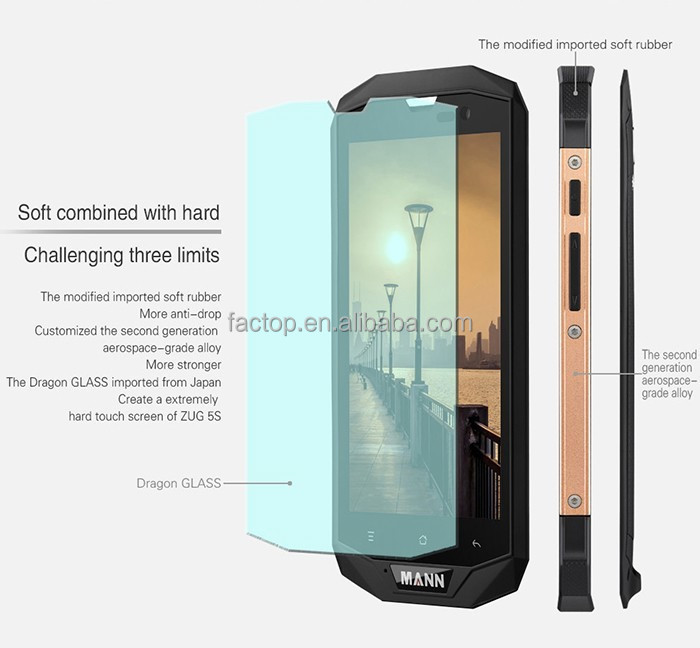 Brand new 5.0 inch quad core 1gb ram rugged phone ip6 7 with gps navigator