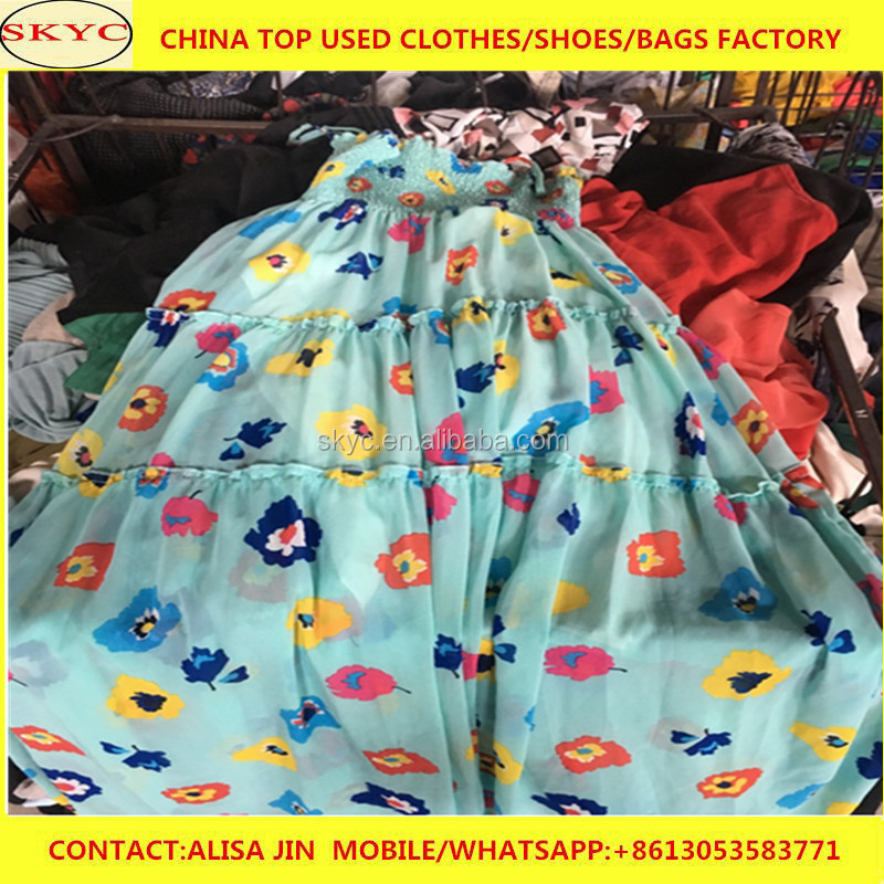 Africa summer used clothings from China foreign trade used clothes companies