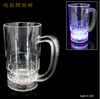 LED Flashing plastic beer mug for Drinking at Bar and Party Club