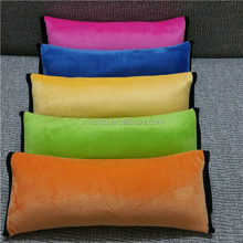 Any color wellcome kids or children shoulder protect bolster cushion, car seat belt travel neck pillow for driving