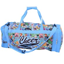 Heat Transfer Print Or Silk Print Best Soccer Bag young Large sports travel bag