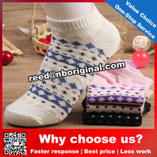 2016 new design women sport socks young girls colorful knitted socks