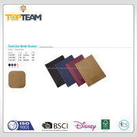 TOPTEAM Exercise Book Covers PVC Carbon Fiber roll psd book cover design