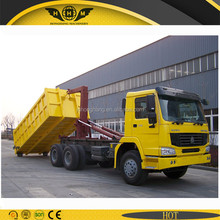 hook arm refuse truck for sale with 20 cubic bucket