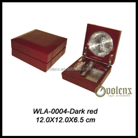 Wholesale good price dark red outdoor military ashtray