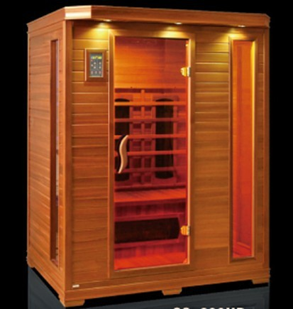 3 Person Sauna infrared With sauna radio cd player for USA Market(CE/ETL/RoHS)