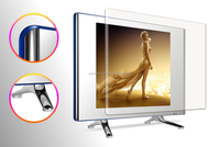 factory price latest hot sale glass model led lcd tv