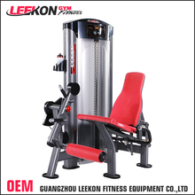 newest muscle training seated incline leg extension machine flex fitness gym equipment for korea