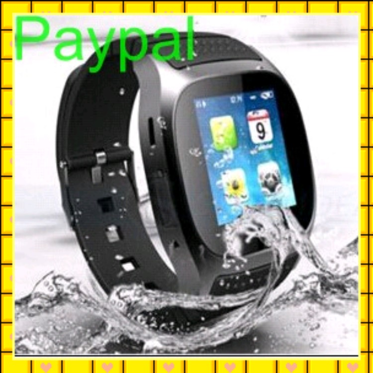 OGS capacitive screen waterproof cdma watch mobile phone